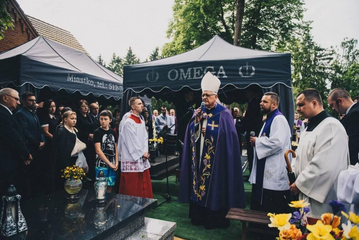uroczystość pogrzebowa