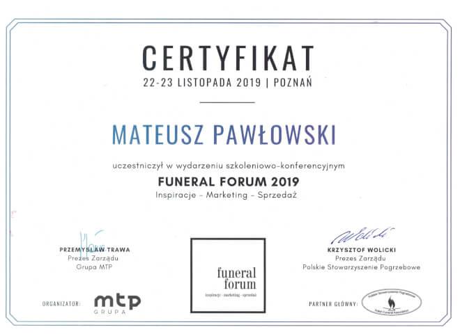 FUNERAL FORUM 2019